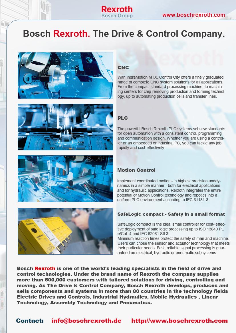 Bosch Rexroth Magnetické Ventily Motory Na Hydraulicky Pohon